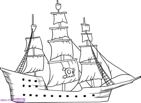 how to draw a pirate ship doodle simple pirate ship drawing how to draw a pirate ship step