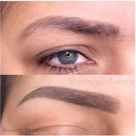 tattoo eyebrows sacramento ca permanent tattoo brow by jereca top pre existing