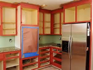 Do You Paint The Inside Of Kitchen Cabinets How To Paint Kitchen Cabinets In A Two Tone Finish How Tos Diy