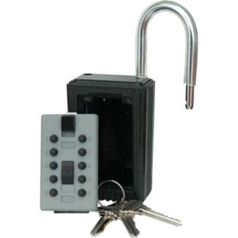 Key Lock Box Home Depot by Lockstate Keydock 5 Key Door Access Lockbox Discontinued
