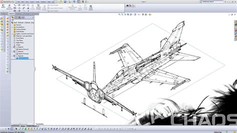 solidworks tutorial airplane solidworks how to insert a image youtube