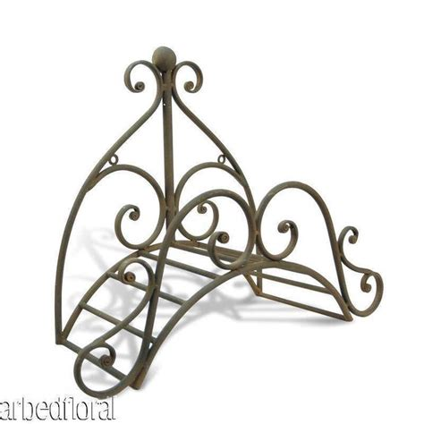 Wrought Iron Fleur Garden Hose Holder Wall Mounted Garden Hose Holder Wall Mount