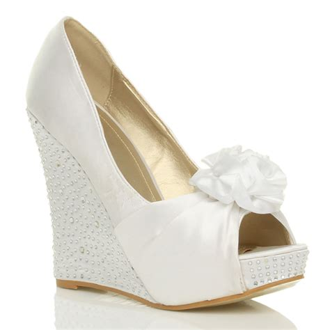 Chagne Wedges For Wedding by Bridal Wedge Shoes 28 Images White Wedge Wedding Shoes