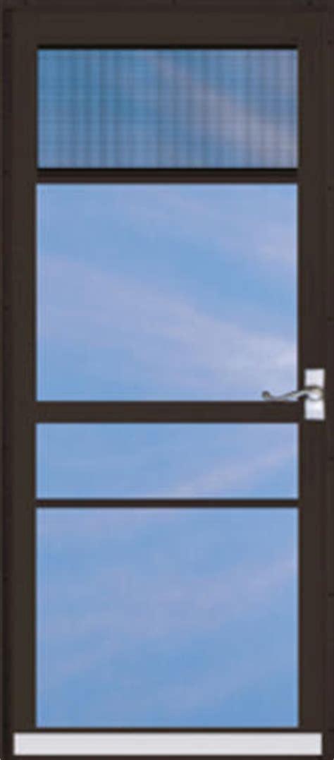 Screen Door Menards by Chamberdoor Regal 34 Quot X 80 Quot Nickel Hardware Aluminum