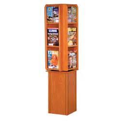 free standing rotating magazine and brochure rack free