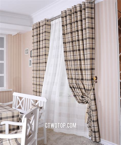Black And White Checkered Curtains Decorating Decorate Your Lovely Window Gallery Including Black And White Checkered Kitchen