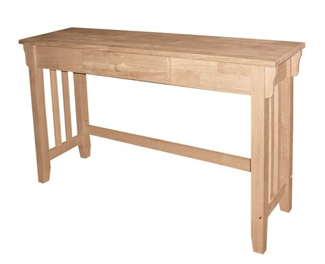 Mission Sofa Table Sofa Tables Mission Sofa Table