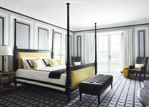 yellow and black bedroom contemporary bedroom greg - Grey Yellow And Black Bedroom