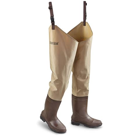 Rugged Boots For Women Guide Gear Men S Steel Creek Nylon Hip Waders 639074