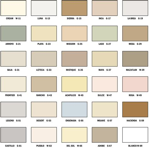omega stucco colors edcolorchart arroyo building materials