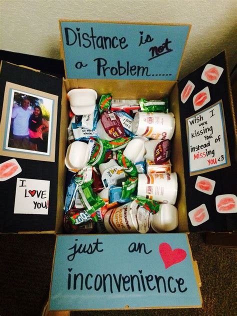 crhistmas ideas for my longterm boyfriend 20 creative college care package ideas noted list