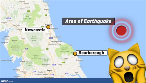 earthquake yorkshire scarborough earthquake funniest reactions to the
