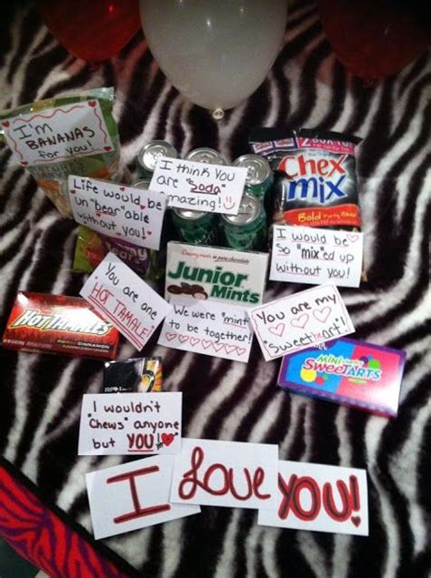 inexpensive and cute way to surprise your boyfriend