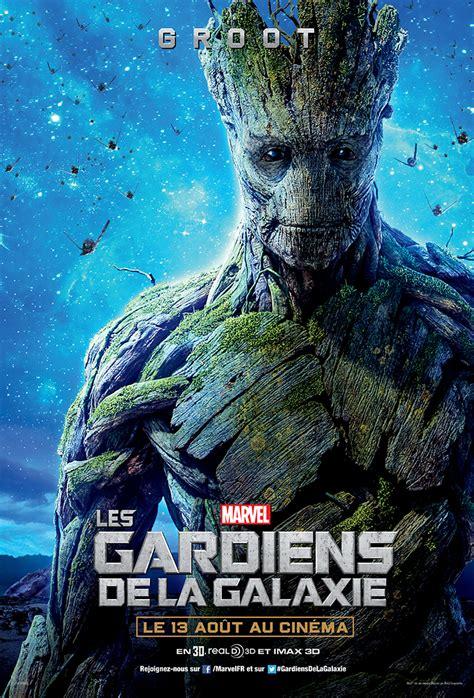 film marvel les gardiens de la galaxie affiche les gardiens de la galaxie groot