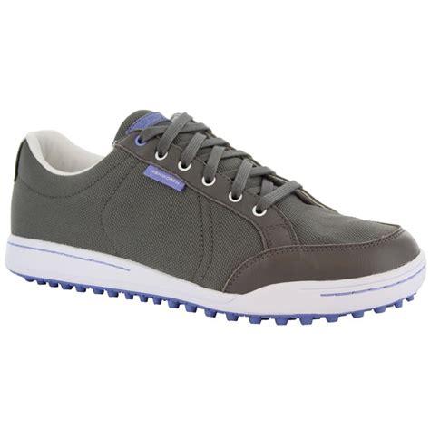 mens ashworth cardiff canvas golf shoes g54229 aluminum