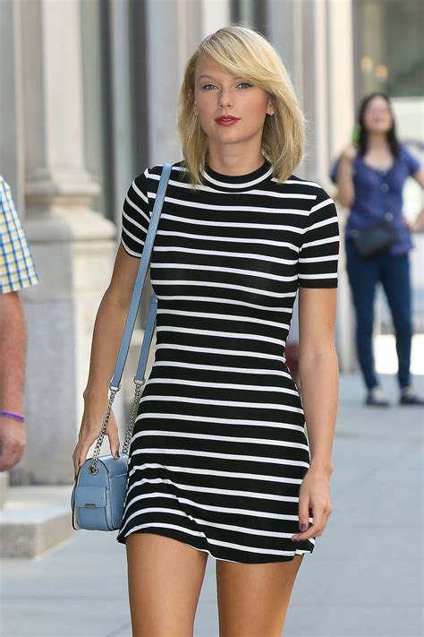 taylor swift taylor swift in mini dress out in new york 09 14 2016