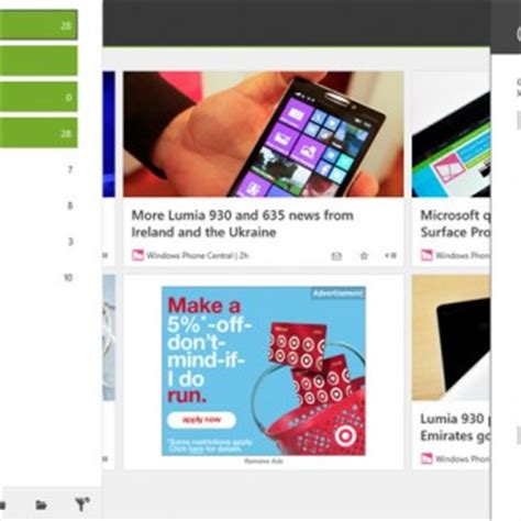 readiy is a pretty great feedly client for windows 8