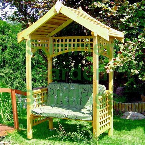 arbour benches wooden 12 best images about arbors and fencing on pinterest