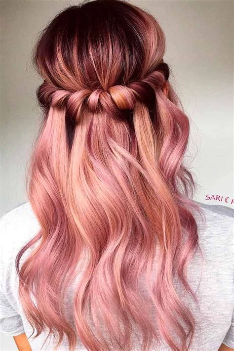 36 beautiful hair color ideas that are totally trending on 18 totally awesome hair color ideas for two tone hair hairstyles hair hair