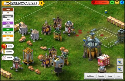 games similar to backyard monsters new content in fb game backyard monsters