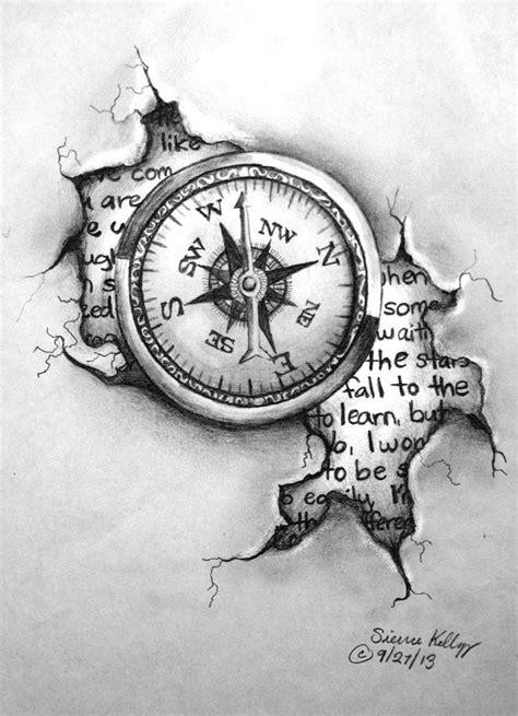 compass tattoo hd tattoo design compass by shezaniftyblonde deviantart com