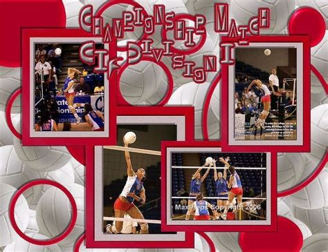 scrapbook layout ideas for volleyball 66 best scrapbooking volleyball images on pinterest