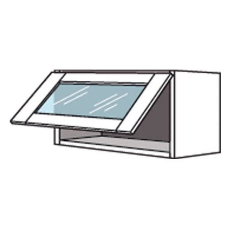 meuble de cuisine haut avec abattant vitr 233 origine cuisine