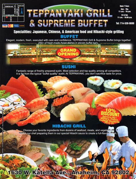 hibachi sushi supreme buffet coupon teppanyaki grill coupons 2017 2018 best car reviews