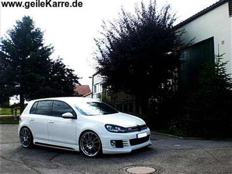 Aufkleber In Wagenfarbe by Vw Golf 6 Gti Rieger 174 Mrah86 Tuning Community