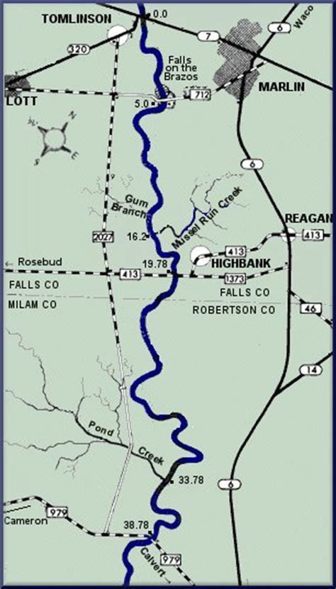 brazos river texas map brazos river texas