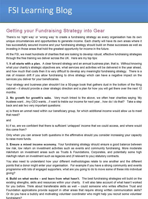 Fundraising Strategy Templates Download Free Premium Templates Forms Sles For Jpeg Fundraising Strategy Template