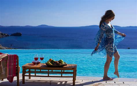 Private Dining Room by San Marco Mykonos Hotel Mykonos Luxury Hotel Amp Villas