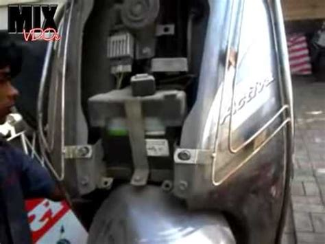 Spedo Meter Jupiter Z Honda Activa How To Open The Front Panel And Remove