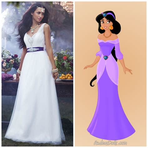 Disney Princess Jasmine Wedding Dress   Wedding and Bridal Inspiration
