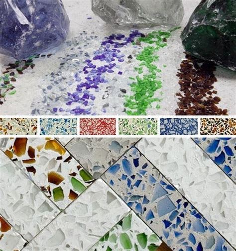 Recycled Glass Countertops Reviews by Recycled Glass Kitchen Countertops San