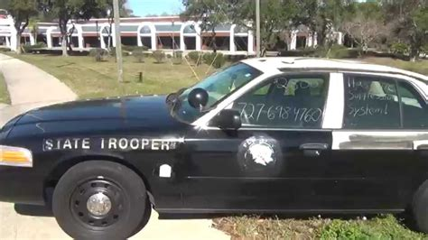 Florida Highway Patrol Number Search Retired Florida Highway Patrol Car 4 Sale