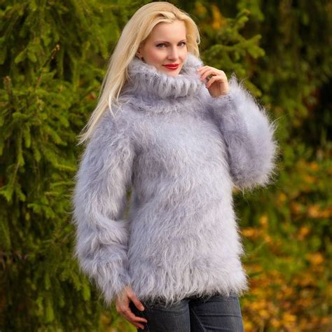 gray hair is fuzzy 1678 best fluffy clothing images on pinterest hand