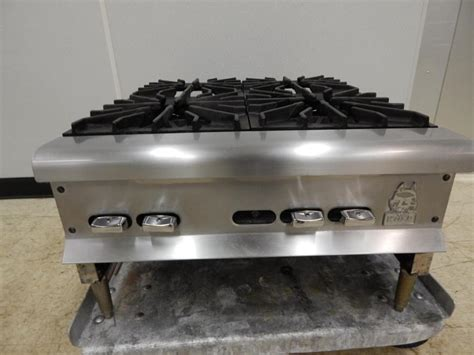 Gas Countertop Range by Wolf 4 Burner Gas Countertop Range Model Ahp424 Ebay