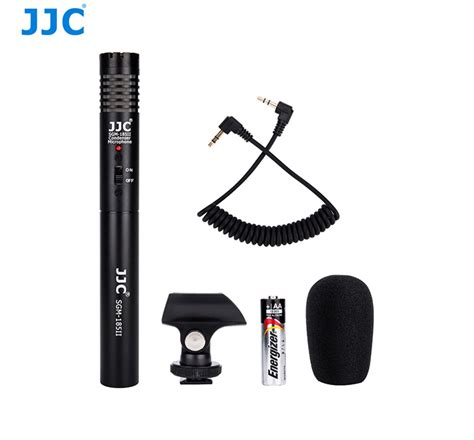 Jjc Clip On Omnidirectional Microphone Sgm 38ii For Canon Nikon Dslr products jjc