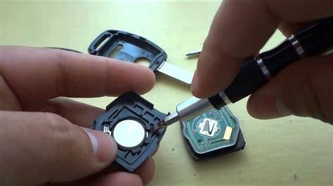 unlock  honda accord door  key  room