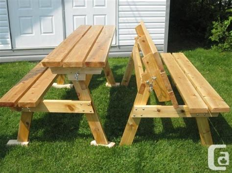 bench converts into picnic table 2x4 bench into picnic table bench that converts to