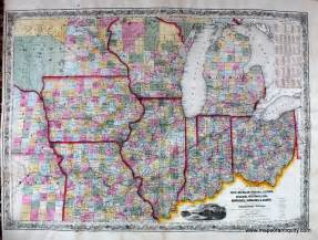 Map Of Michigan And Ohio by Similiar Map Of Michigan Ohio Wisconsin Keywords