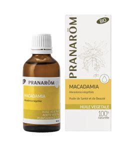 huile macadamia cuisine macadamia organic pranar 244 m 50ml
