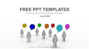 Communication Powerpoint Templates by Grid