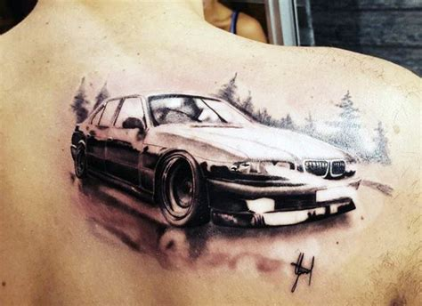 car tattoos 70 car tattoos for men cool automotive design ideas