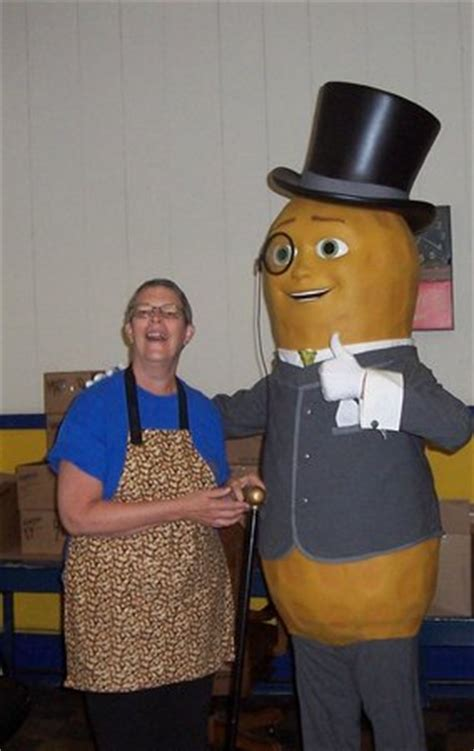 Planters Peanut Center by Mr Peanut Beale A Laugh Picture Of
