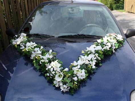 Autodeko Hochzeit by Autoschmuck Vgirlande Callas Pur Hochzeitsdekorationen