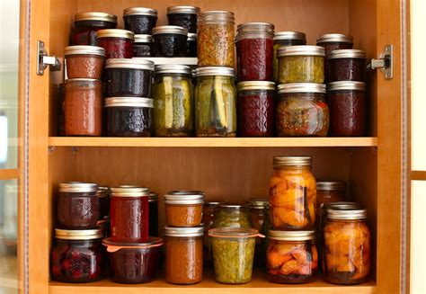 Jar Pantry by A Preserving Update And A Tattler Reusable Canning Lids