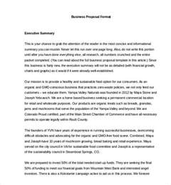 Standard Business Proposal Template Business Proposal Template 31 Free Word Pdf Documents