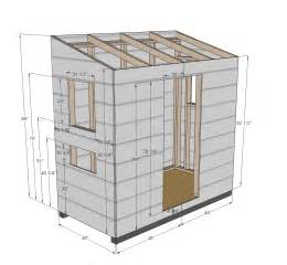 4x6 Shed Plans by Lucas Access Free 4x6 Shed Plans